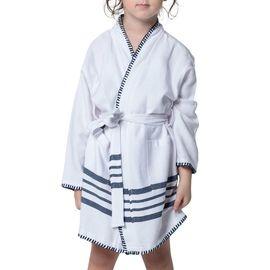 Bathrobe Kiddo Coban WS - White / Navy