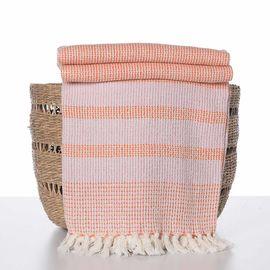 Throw Afra - Orange / Pink