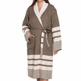 Bathrobe Tabiat with towel - Khaki