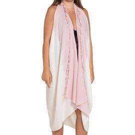Pareo - Tie Dye / Edges Rose Pink