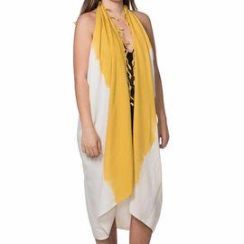 Pareo - Tie Dye / Edges Yellow