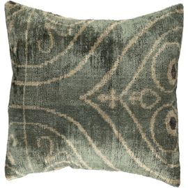 Cushion Cover / Velvel Ikat 01 (35x35cm)