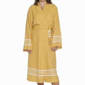 Bathrobe Sultan Kimono - Yellow