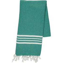 Peshtemal White Sultan / Fanfare Green