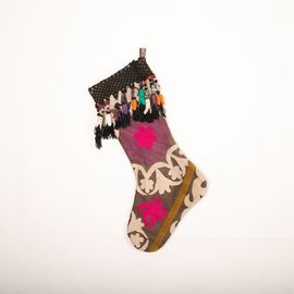 Yılbaşı Süs Çorabı - Suzani 008