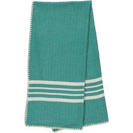 Peshtemal / Towel Sultan - Stitched / Fanfare Green