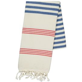 Peshtemal / Towel - Sultan FUN - Red / Royal Blue