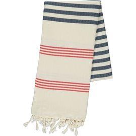 Peshtemal / Towel - Sultan FUN - Red / Navy
