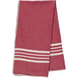 Peshtemal / Towel Sultan - Stitched / Bordeaux
