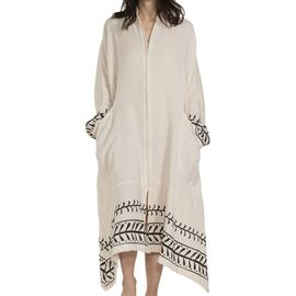 Elbise Melda - El Baskı 15 - Siyah Baskı