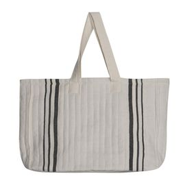 Tote Bag - Sultan / Black Stripes