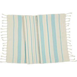 Peshkir SultanCP / Turquoise Stripes