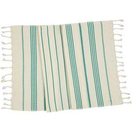 Peshkir SultanCP / Fanfare Green Stripes