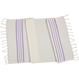 Peshkir Sultan - Dark Lilac Stripes