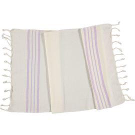 Peshkir Sultan - Light Lilac Stripes