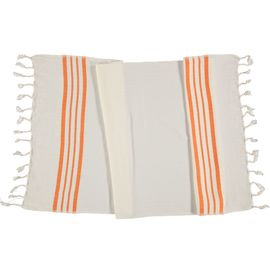 Peshkir Sultan - Orange Stripes