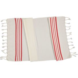 Peshkir Sultan - Red Stripes
