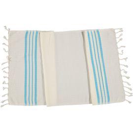 Peshkir Sultan - Turquoise Stripes