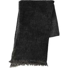 Koltuk Örtüsü - Sepet Taş Yıkama / Siyah