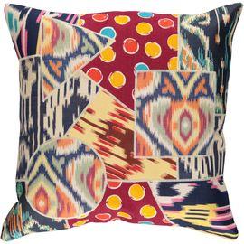 Cushion Cover Patchwork - Cotton (45x45cm) 011