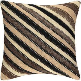 Yastık Kılıfı Diagonal - Keten & Pamuk (45x45cm) 014