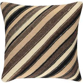 Yastık Kılıfı Diagonal - Keten & Pamuk (45x45cm) 016
