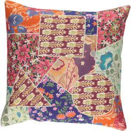 Cushion Cover Patchwork - Cotton (45x45cm) 01
