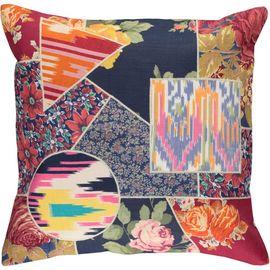 Cushion Cover Patchwork - Cotton (45x45cm) 04