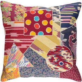 Cushion Cover Patchwork - Cotton (45x45cm) 05
