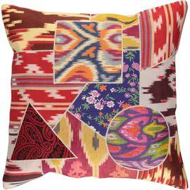 Cushion Cover Patchwork - Cotton (45x45cm) 06