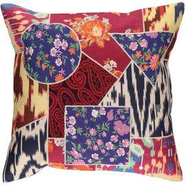 Cushion Cover Patchwork - Cotton (45x45cm) 07