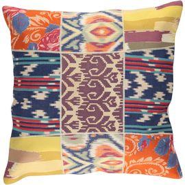Cushion Cover Patchwork - Cotton (45x45cm) 08