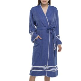 BATHROBE COBAN KS  - ROYAL BLUE