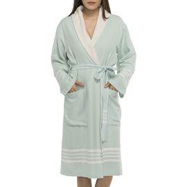 Bathrobe Sultan with towel - Mint
