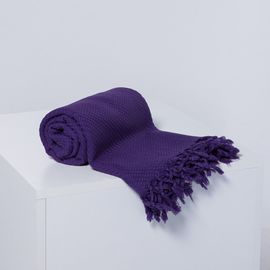 THROW / BLANKET - PURPLE