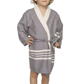 Bathrobe Kiddo Terry KS - Dark Grey
