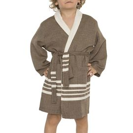 Bathrobe Kiddo Terry KS - Khaki