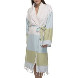 Bathrobe Twin Sultan with towel / Mint - Green