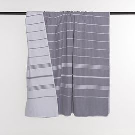 Throw Leyla / Double Side - Dark Grey