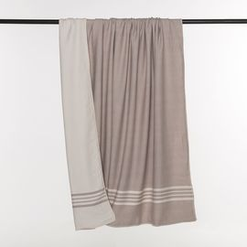 Throw Sultan / Double Side - Taupe