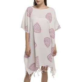 Tunic - Hand Printed 05 / Rose Pink