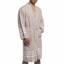 BATHROBE SENA - TAUPE (MAN)