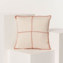 Cushion Cover / Patchwork - Brick stitched 40x40 cm