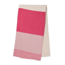 TOWEL KSC3 DOUBLE FACE / FUCSHIA - ROSE PINK
