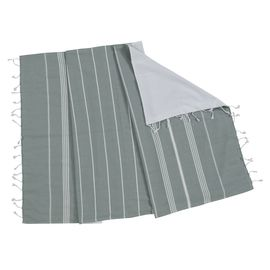 TOWEL ANI  CP- DOUBLE FACE /  ALMOND GREEN