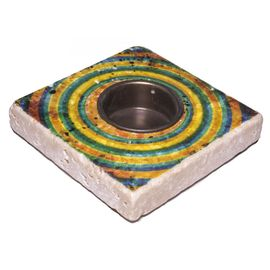 Candle Holder Lodge - Travertine 44A