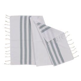 Peshkir Bala Sultan - Almond Green Stripes