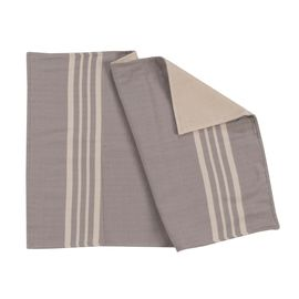 KREM SULTAN WITH TERRY - 50  x 70 cm - LIGHT GREY