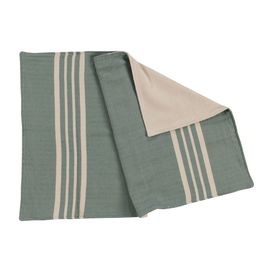 KREM SULTAN WITH TERRY - 50  x 70 cm - ALMOND GREEN
