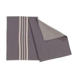 KREM SULTAN MINI TOWEL  40 x 70 - DARK GREY